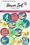 15 círculos de dinosaurio jurásico brillantes (B) de 4 cm de oblea comestible para decorar cupcakes de pie, para fiestas de cumpleaños, decoración de tartas y tartas fáciles de cortar