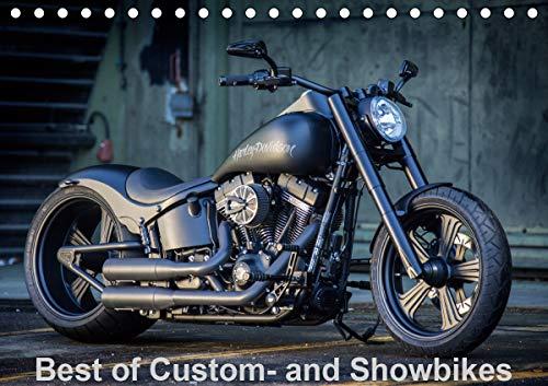Best of Custom- and Showbikes Kalender (Tischkalender 2021 DIN A5 quer)
