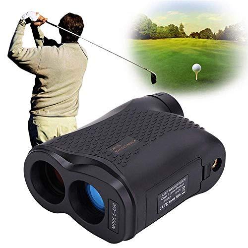 Afstandmeter voor golf, afstandsmeter, laser met 6-voudige vergroting, 660 verges met helling, snelheid, hoogte, hoekmeting.
