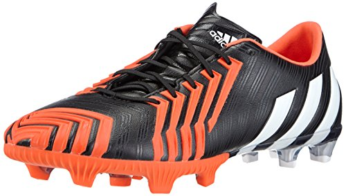adidas Herren Predator Instinct FG Fußballschuhe, Schwarz (Core Black/FTWR White/Solar Red), 40 EU