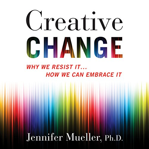 Creative Change audiobook cover art