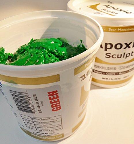 Apoxie Sculpt 4 Lb. Epoxy Clay - Green