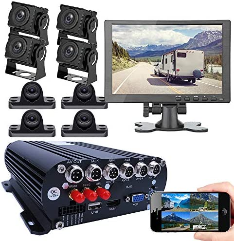 JOINLGO 8 CH Mobile DVR Backup Camera System 10 HDMI VGA Remote Monitor on PC Phone GPS WiFi product image