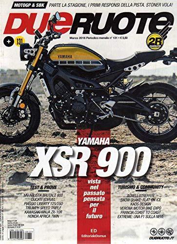 Dueruote Due Ruote 131 marzo 2016 Yamaha XSR 900-Ducati Xdiavel-Honda Africa
