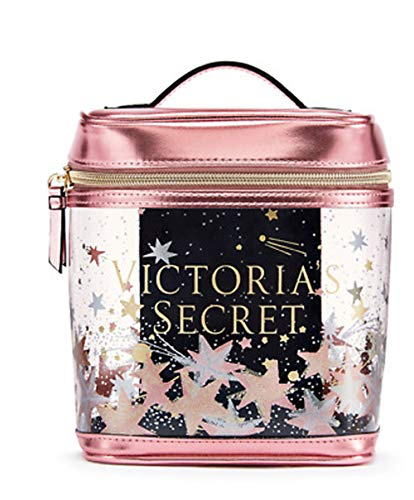 Victorias Secrets Small Train Case Celestial Shimmer New Cosmetic Makeup