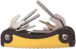 New T-2 Scuba Toolpack Multi Tool (Yellow) for Repairing & Adjusting Scuba Diving Regulators (11 Stainless Steel Tools)