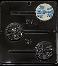 Candy Molds N More,  It's A Boy Lollipop Chocolate Candy Mold Baby Shower 691
