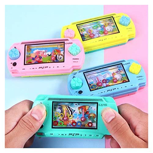 THQC Kultivieren Kind Denken Fähigkeitsspielzeug Wasserring Wurf Kind Handheld Spielmaschine Elternkind Interaktives Spiel Spielzeug Zufällige Farbe (Farbe : Random Color)