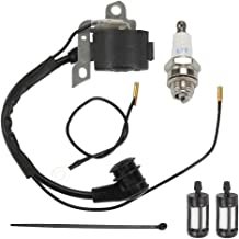 Yermax Ignition Module Coil with Fuel Filter Spark Plug for Stihl MS240 MS260 MS290 MS310 MS360 MS360C MS390 MS440 MS640 Chainsaw