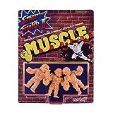 Super7 M.U.S.C.L.E. - Street Fighter II Muscle 3-Pack - Pack B