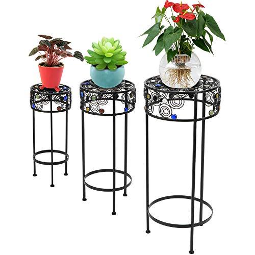 Ejoyous Forniture per Il Giardinaggio, Supporto per Piante Bello Durevole Facile per Il Giardino