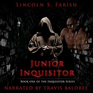 Junior Inquisitor audiobook cover art