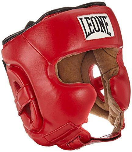 Leone 1947 - Casco de Entrenamiento para Adultos, Unisex, Color Rojo, Talla M