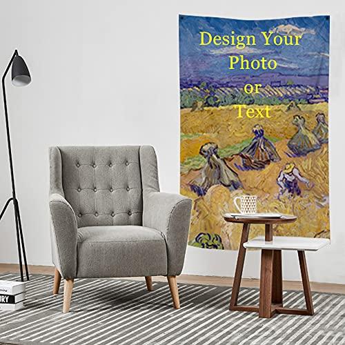 "lttcbro Custom Tapestry Photo Wall Hanging Tapestries Wall Art Tapestry Backdrop Decoration(20""*40""/50X101CM)"