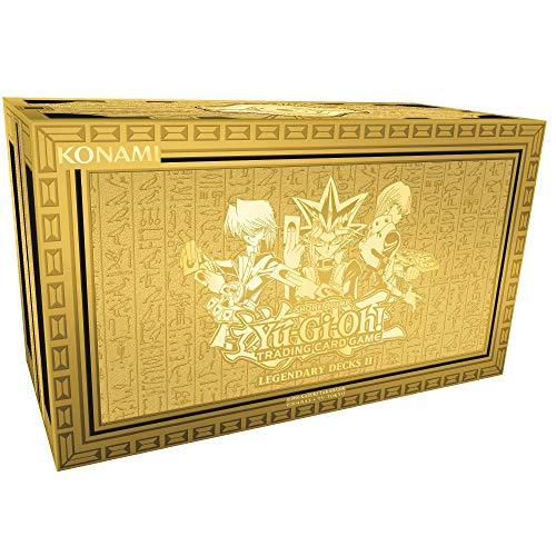 YU-GI-OH! YGO-LD2-EN Legendary Decks II Caja de mazos de Cartas