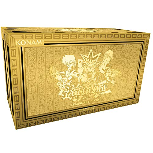 YU-GI-OH! Ygo-ld2-en Legendary Decks II Box Set.