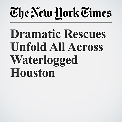 Dramatic Rescues Unfold All Across Waterlogged Houston copertina