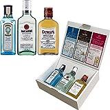 【Amazon.co.jp限定】【プレゼント 誕生日 記念日 ギフトにおすすめ】バカルディミニボトル3種類セットボンベイ・サファイアバカルディ・スペリーオールデュワーズ