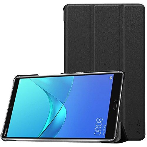 ProCase Etui de Huawei MediaPad M5 8,Support Mince Coquille Dure Etui Intelligent pour 8.4 Pouce Huawei MediaPad M5(2018 parution) -Noir
