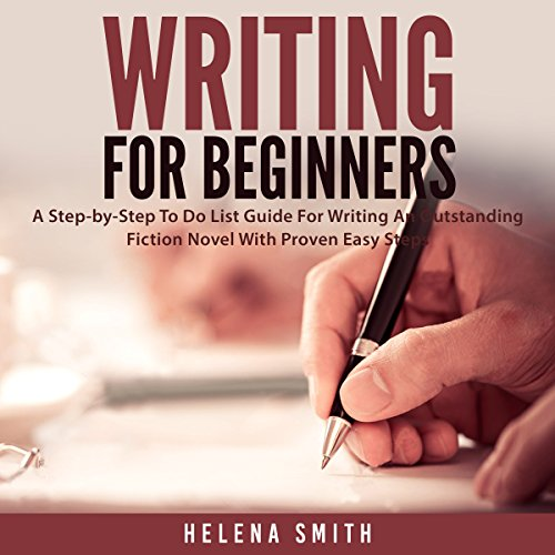 Writing for Beginners audiobook cover art