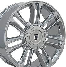 OE Wheels 22 Inch Fits Chevy Silverado Tahoe GMC Sierra Yukon Cadillac Escalade CA83 Chrome 22x9 Rim Hollander 5358