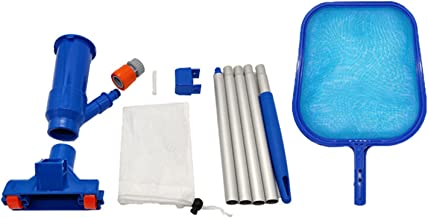Wendao Equipo de limpieza de la piscina Operación fácil durable durable durable durable durable desmontable portátil para la piscina