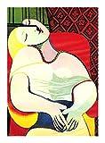 Puzzle Mundial de la Famosa Pintura de Picasso Rompecabezas-El sueño 300/500/1000 Piezas for Adultos Adolescentes - Cada Pieza es única, Piezas encajan Perfectamente (Size : 300pcs )