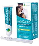 BabyDance Fertility Lubricant: Sperm-Friendly Lube Made Without Parabens - 40 Gram Multi-Use Tube with 10 Applicators