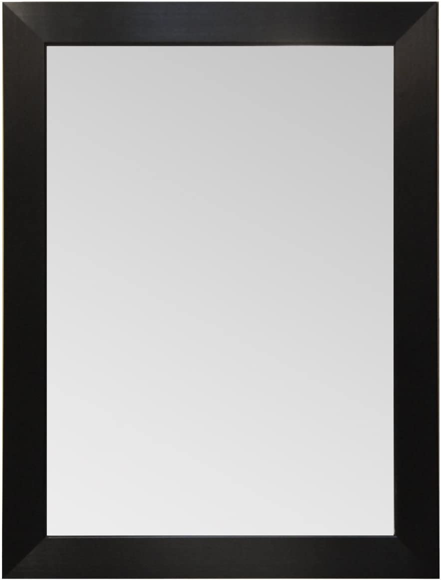 Wood depot Frame Mirror Modern Elegant Rectangle Wall National products Mounted