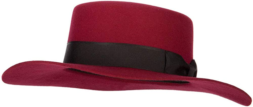 Jeanne Simmons Women's Wool Felt Max 68% OFF Wide Bolero Trim F Ribbon Satin High quality