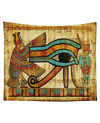 Tapices decorativos,Tapiz de Pared, Tapicería de pared colgando antiguo egipcio desplazamiento de desplazamiento de desplazamiento egipcio Fondo de fotografía egipto Egipto Faraones Historia Telón de