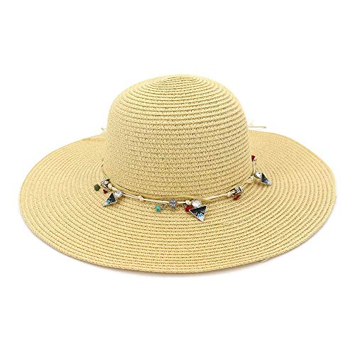 LXY Twisted Damenhut für Herren und Damen, Kopfbedeckung, modisch, Camouflage, bedruckt, doppelter Verwendungszweck, schützt (Farbe: 02, Größe: 2424 cm) (Farbe: Khaki, Größe: 56–58 cm)