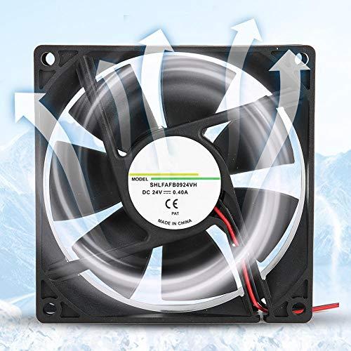 Computergehäuselüfter, Kühlkörperlüfter PC-Lüfter zur Wärmeableitung von Frequenzumrichter/Wechselrichter/Schweißmaschine, 2/3-polige Schnittstelle des Wasserkühlungssystems Motherboard