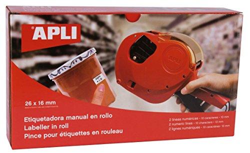 agipa Apli - Máquina etiquetadora 2 líneas 10 caracteres ⭐