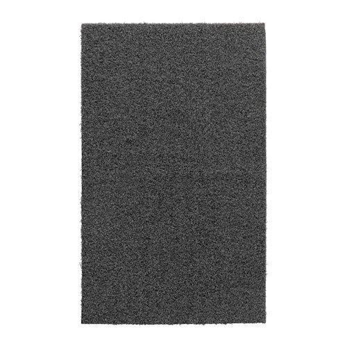 Ikea OPLEV - Zerbino per interni ed esterni, 50 x 80 cm, colore: Grigio