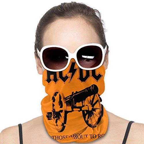 Pasamontañas de microfibra para deportes al aire libre, bandana para el cuello, para esquí, bandana, bufanda, protección para la cara, Balaclava-ACDC