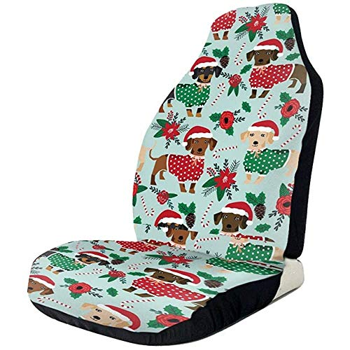 Kerst Truien Leuke Dachshunds Seat Protectors Auto Seat Cover