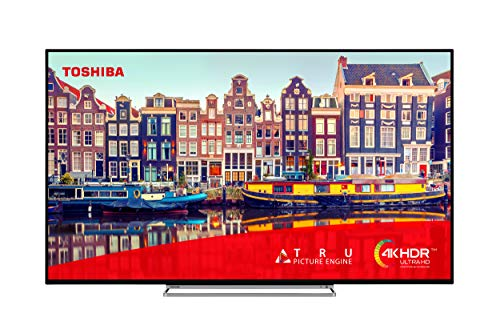 Toshiba 50VL5A63DB 50-Inch Smart 4K Ultra HD HDR LED TV Freeview HD, Freeview Play and Built-in WiFi - (2020 Model)
