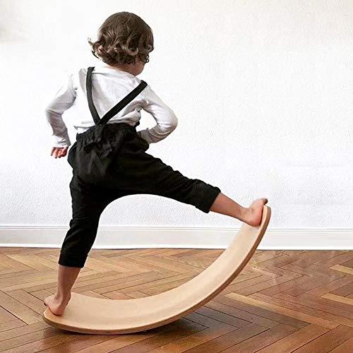 Lifesongs Balance Board,Kinderboard Umweltschutz Build Balance Nicht Verblassen Balancierbrett Wackelbrett Für Kinder Und Jugendliche