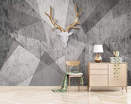 Papel Pintado Personalizado Murales De Fotos 3D Moderno Abstracto Geométrico Vintage Mosaico Geométrico Tv Papel Tapiz De Fondo Papel Tapiz Обои-300Cmx210Cm