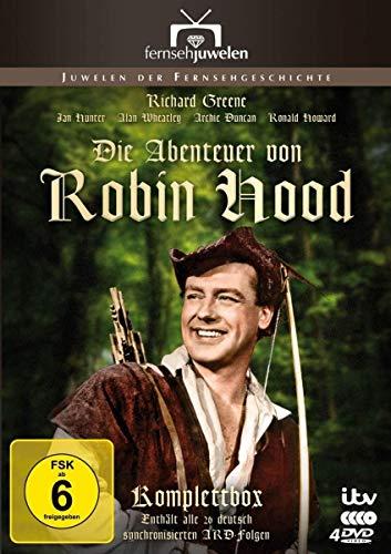 Die Abenteuer von Robin Hood - Die ARD-Gesamtedition (Alle 26 ARD-Folgen) (Fernsehjuwelen) [4 DVDs]