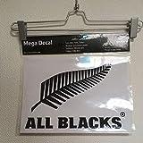 ニュージーランド代表 オールブラックス オフィシャルライセンスグッズ 転写ステッカー 25 ブラック ラグビーワールドカップ RWC2019