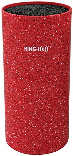 Marke New King Hoff Messer Block KH -1091/1092/1093/1094 rot