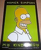 Homer Simpson       10  x 15  cm Postkarte