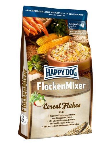 Happy Dog 02162 - Premium Flocken Mixer - Flocken zum Mischen mit Fleisch für ausgewachsene Hunde - 3 kg Inhalt
