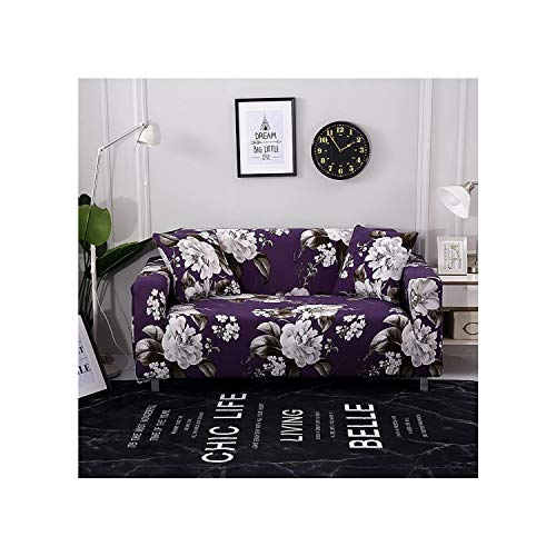 Cheryl Norri Sofa Cover Stretch Furniture Covers Elastic Sofa Covers For Living Room Copridivano Slipcovers For Armchairs Covers,Model M,1 Seat (90-140Cm)