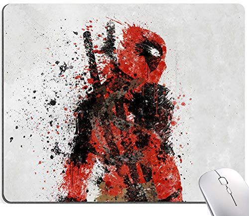 Super Hero Characters 03 Gaming Mouse Pad, Movie Mouse Pad Non-Slip Rubber Base Mouse Pads for Computers Laptop Office,9.5'x7.9'x0.12' Inch(240mm x 200mm x 3mm)