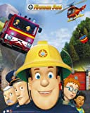 GB Eye 40x 50cm Jupiter Feuerwehrmann Sam Mini-Poster,