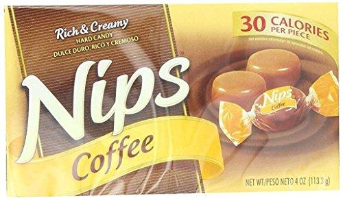 Nestle Nips Candy Coffee 4 Ounce Box - 12 Pack