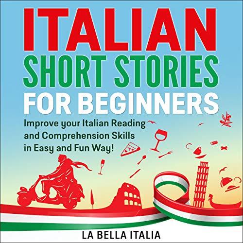 Italian Short Stories for Beginners audiobook cover art